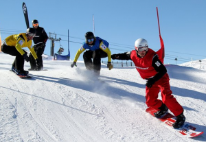 snowboard cross photo